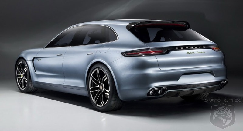 Porsche Panamera Sport Turismo To Debut At Paris Motor Show